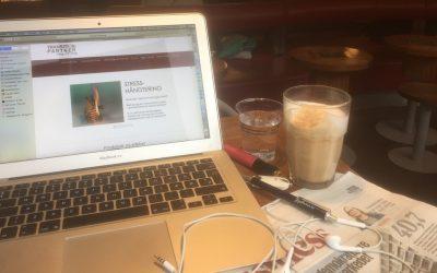 En latte med ekstra kreativitet, tak